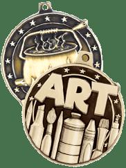 3D Diecast Medals Activity