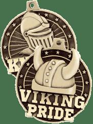 3D Diecast Medals Mascot Pride