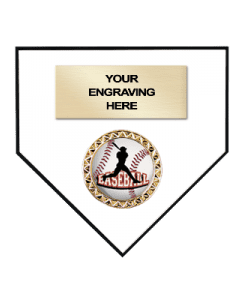 Sport Plaques Homeplate