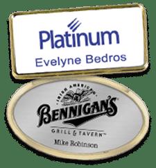 Badges Engraved Badges