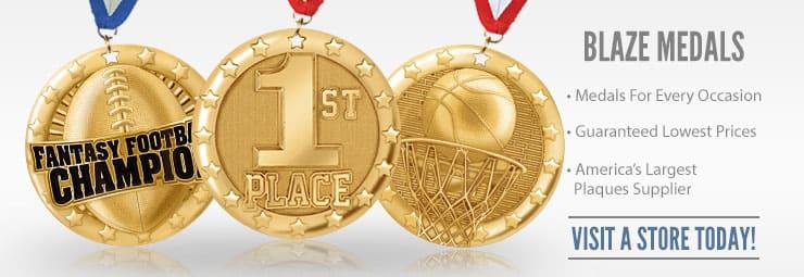 101 Blaze Medals