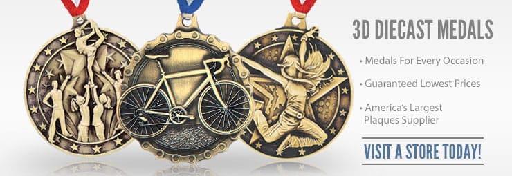 09 3D Diecast Medals