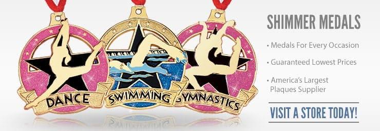 87 Shimmer Medals