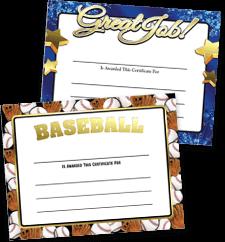 Certificates Foil Certificates