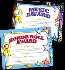 Certificates Scholastic