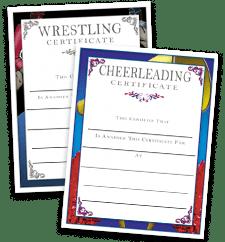Certificates Sport Certificates