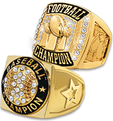 Champion Trophies Rings