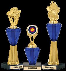Crystalline Trophies Jumbo Blue