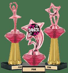 Crystalline Trophies Pink