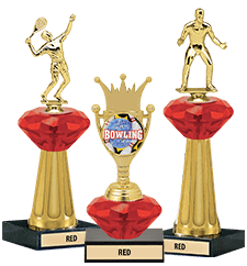 Crystalline Trophies Red