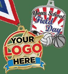 Custom Awards Diecast Medals