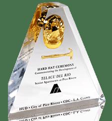 Custom Awards Embedments