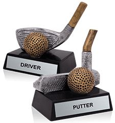 Golf Golf Sculptures