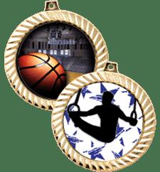 Insert Medals Diamond Cut