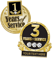 Pins Years Of Service