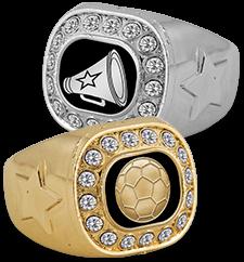 Rings Crystal Rings
