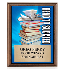 Scholastic Plaques