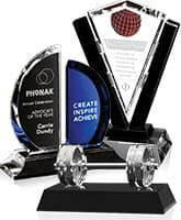 Custom Crystal Custom Crystal Awards