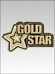Pins Gold Star_PNEMGDST